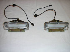 SET of 1965 1966 1967 Chevelle El Camino Back Up Reverse Lamp Lights Pair SALE