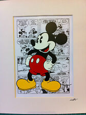 Disney - Classic Mickey Mouse - Hand Drawn & Hand Painted Cel