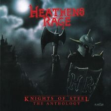 HEATHEN'S RAGE - Knights Of Steel/The Anthology DCD (NEW*US METAL*SAVAGE GRACE)