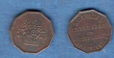 Médaille Jeton - Société Impéraile et Centrale d'Horticulture