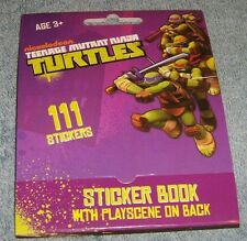 Teenage Mutant Ninja Turtles Sticker Book 111 Stickers New FREE SHIP