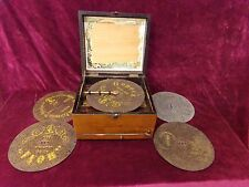 Antique polyphon music box for restoration