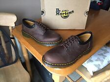 Dr Martens 8053 brown crazy horse leather shoes UK 9 EU 43 mod gaucho 1461