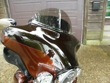"Harley 8"" Bronze Tint Windshield Touring Electra Glide Ultra Bat Wing 96-13"