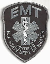 EMT - NEW JERSEY -  IRON ON PATCH