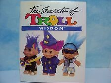 CHILDRENS' BOOK OF RUSS TROLLS & WORDS OF WISDOM -  Russ Troll Doll - Very Rare