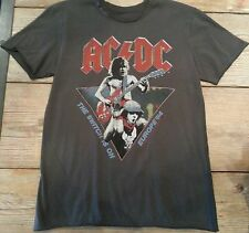 "Amplified ACDC ""The Switch is On"" T Shirt  Vintage Washed Small, Last Ones!"