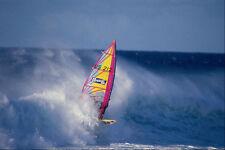 568088 windsurf en el blanco Wave Hookipa Maui A4 Foto Impresión