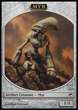 4x TOKEN Myr 1/1 MTG MAGIC SoM Scars of Mirrodin English