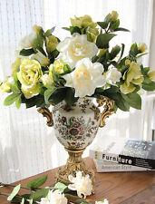 REAL TOUCH Gardenia x 6-fiori artificiali - 4 colori disponibili
