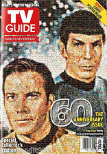 "TV Guide 60th Anniversary Special Collector's Issue ""Star Trek"" Magazine. 2013."