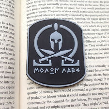 MOLON LABE TACTICAL SPEC MORALE TACTICAL ISAF 3D PVC PATCH GLOW IN DARK