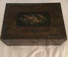 Vintage Jewelry Storage Treasure Cards Collection Wooden Gift Box Decorative