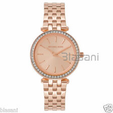 Michael Kors Original MK3366 Women's Rose Gold Mini Darci Stainless Steel Watch