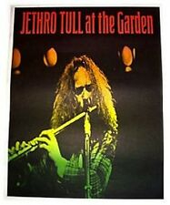 """'Jethro Tull at the Garden' Vintage 28""""x22"""" Poster"""