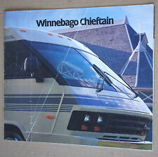 WINNEBAGO CHIEFTAIN  ✿ BROCHURE CATALOGUE CAMPING-CAR USA AMERICAIN VINTAGE ✿