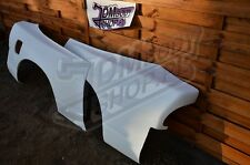 Nissan S13 Rear Overfenders +50mm Pumped wide body kit quarter 200sx 240sx 180sx