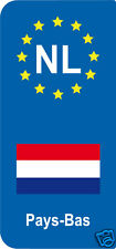 2 Stickers Europe NL Pays-Bas