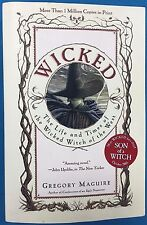 WICKED The Wicked Witch of the East by Gregory Maguire (1985) Regan Books SC