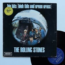 "Vinyle 33T Rolling Stones  ""Big hits (High tide and green grass)"""