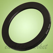 67mm to 52mm 67-52 mm 67-52mm 67mm-52mm Stepping Step Down Filter Ring Adapter