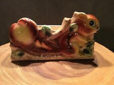 Vintage Squirrel Planter Japan