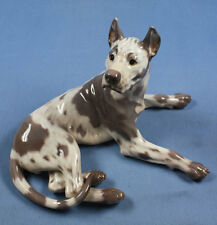 dogge great dane hundefigur hund Porzellanfigur Royal copenhagen