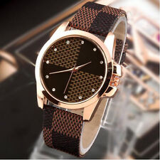 New Fashion Brand Leather Strap Quartz Watches Women Casual Ladies Wristwatch