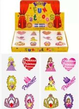 576 Princess Temporary Children's Tattoos Loot Bag Job Lot Comes asstd design