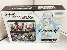 New Nintendo 3DS Fire Emblem if limited edition Console Kisekae Plate Pack Japan