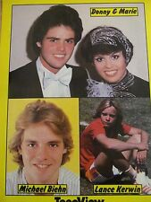 Donny and Marie Osmond, The Osmonds, Full Page Vintage Pinup