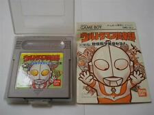 Game Boy GB:Ultraman Club - Teki Kaijuu o Hakken Seyo ! [BANDAI] NOT BOX - Jap