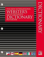 The New International Webster's Quick Reference Dictionary Notebook 2002 Paperba