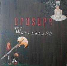 ERASURE - WONDERLAND VINYL ALBUM ELECTRONIC POP VINCE CLARKE ANDY BELL NM/EX