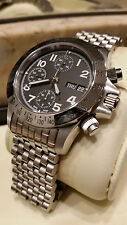 Swiss Chronograph CUSTOM  ETA Valjoux 7750 SS Watch