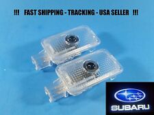 2x LED Door Courtesy Shadow Laser Holo Light for Subaru Forester Impreza Outback