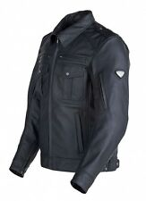GENUINE TRIUMPH PATROL LEATHER MOTORCYCLE JACKET MENS XX-LARGE WAS £299 NOW £140