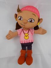 Fisher Price Jake & The Neverland Pirates IZZY Girl plush TALKS 10""