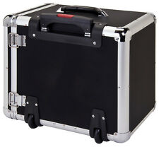 ALUMINIUM WHEELED STORAGE CASE SIDE ACCESS WITH 12 TRAYS (BD8617B)
