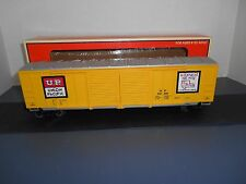 Lionel #17227 Union Pacific Double Door Box Car Standard O