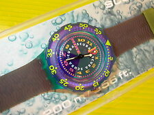 Swatch Scuba BERMUDA TRIANGLE in NEU & OVP + neuer Batterie SDN106