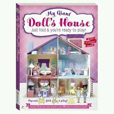 """MY GIANT DOLL""""S HOUSE JUST FOLD AND PLAY"""