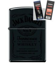 Zippo 1512 Jack Daniels Old #7 Lighter with *FLINT & WICK GIFT SET*