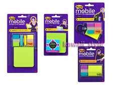 3M Post-it MOBILE x4 Attach & Go Tabs Flags Arrows Sticky Notes Dispenser Insert