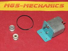 Bausatz Getriebemotor 6 Volt mit Riemenantrieb für z.B. Bau einer Seilwinde