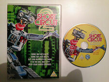 Short Circuit 2 - Classic DVD Film - UK Release - VGC