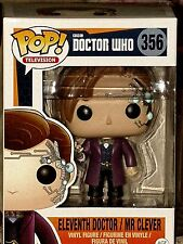 "Pop! TV BBC Doctor Who 11th Doctor as Mr. Clever 3.75"" Vinyl Figure #356 * MINT"