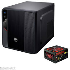 AvP HYPERION EV33B BLACK MATX USB 3.0 CUBE COMPUTER PC MEDIA CASE WITH 650W PSU