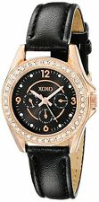 XOXO Watch Women's Watch XO3405 Round Analog Display Quartz Black Strap Watch