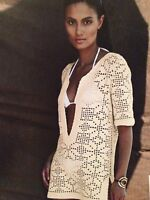 Ladies ( S,M,L,XL)Crochet Filet Pattern Beach Tunic Crochet Pattern